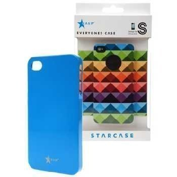 iPhone 4 / 4S StarCase Cover Light Blue
