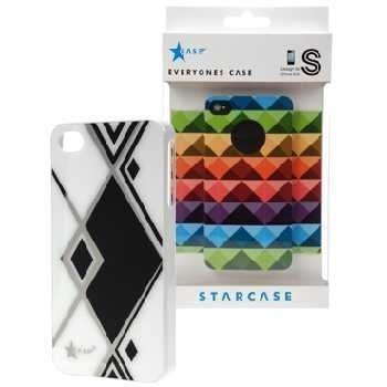 iPhone 4 / 4S StarCase Cover Prism White / Black
