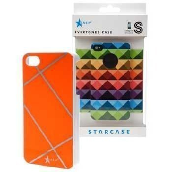 iPhone 4 / 4S StarCase Cover Raster Orange