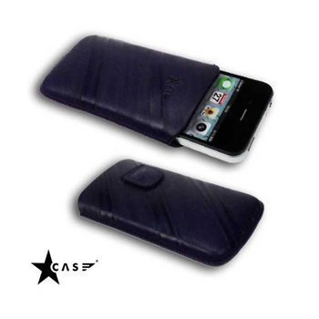 iPhone 4 / 4S StarCase Linea Leather Case Purple