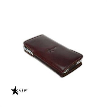 iPhone 4 / 4S StarCase Manhattan Leather Case Tobacco