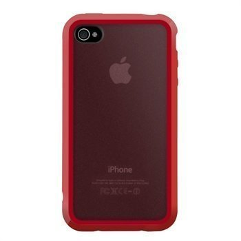 iPhone 4 / 4S SwitchEasy Trim Case Red