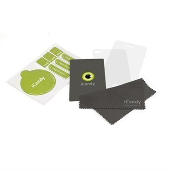 iPhone 4 / 4S iCandy Doc Green Screen Protector Set