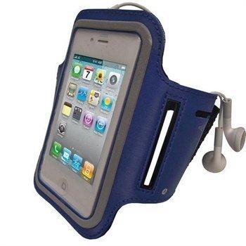 iPhone 4 / 4S iGadgitz Käsivarsikotelo Sininen