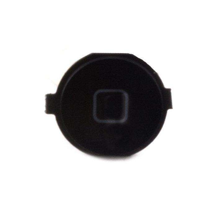 iPhone 4 Home-nappi + kumitarra Musta