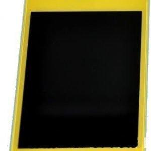 iPhone 4 LCD-näyttö + kosketuspaneeli Keltainen