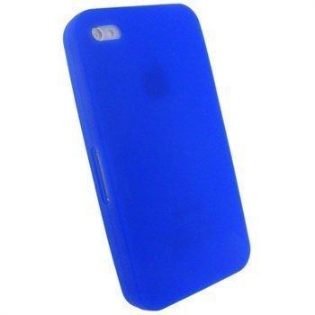 iPhone 4 iGadgitz Silikonikotelo Sininen