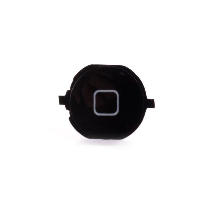 iPhone 4S Home-nappi + kumitarra Musta