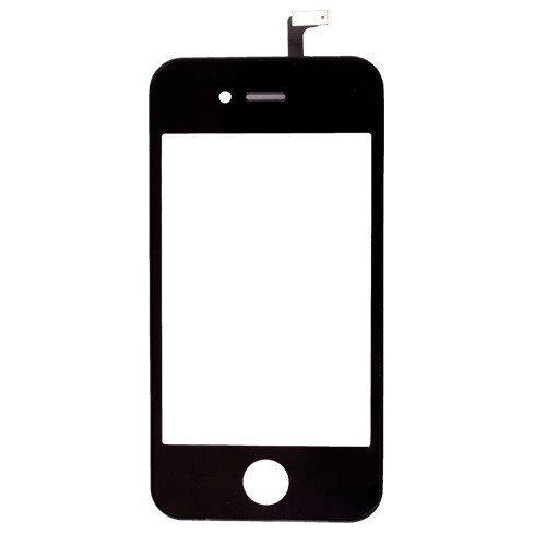 iPhone 4S LCD-näyttö + kosketuspaneeli Musta