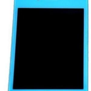iPhone 4S LCD-näyttö + kosketuspaneeli Vaaleansininen