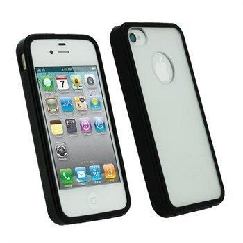 iPhone 4S iGadgitz Click-On Kotelo Musta