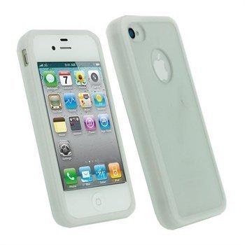 iPhone 4S iGadgitz Click-On Kotelo Valkoinen