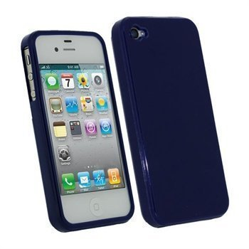 iPhone 4S iGadgitz TPU Case Blue