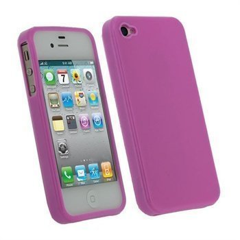 iPhone 4S iGadgitz TPU Case Pink