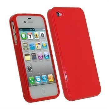 iPhone 4S iGadgitz TPU Case Red