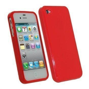 iPhone 4S iGadgitz TPU Case Red