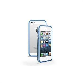 iPhone 5 / 5S / SE / 5C Naztech TPU-Suojareunus Sininen