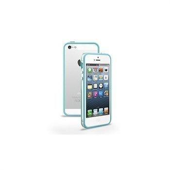 iPhone 5 / 5S / SE / 5C Naztech TPU-Suojareunus Sinivihreä