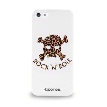 iPhone 5 / 5S / SE /5S Puro Happiness Kotelo Valkoinen