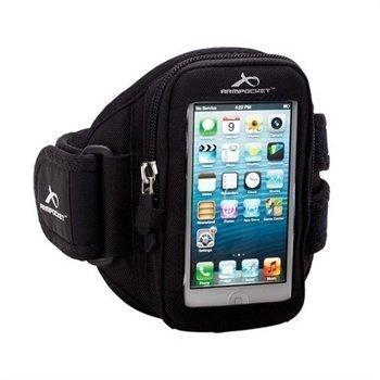 iPhone 5 / 5S / SE Armpocket I-10 Käsivarsikotelo M Musta