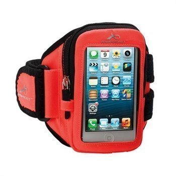 iPhone 5 / 5S / SE Armpocket I-10 Käsivarsikotelo M Oranssi