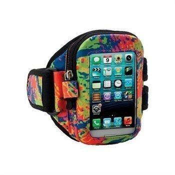 iPhone 5 / 5S / SE Armpocket I-10 Käsivarsikotelo M Roiskeet