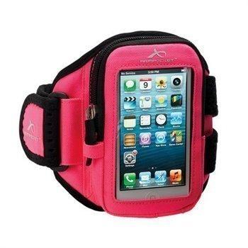 iPhone 5 / 5S / SE Armpocket I-10 Käsivarsikotelo S Pinkki