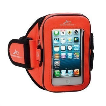 iPhone 5 / 5S / SE Armpocket i-25 Armband M Orange
