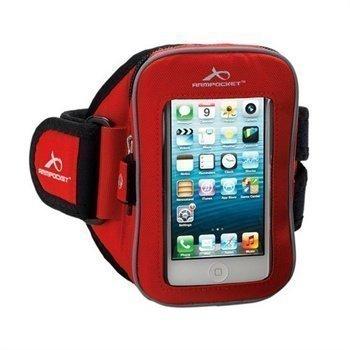 iPhone 5 / 5S / SE Armpocket i-25 Armband M Red