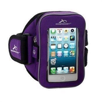 "iPhone 5 / 5S / SE Armpocket i-25 Käsivarsikotelo M â"" Violetti"