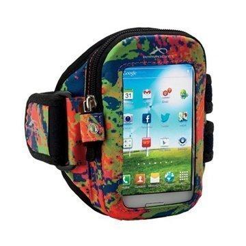 iPhone 5 / 5S / SE Armpocket i-30 Käsivarsikotelo S Väriroiskeet