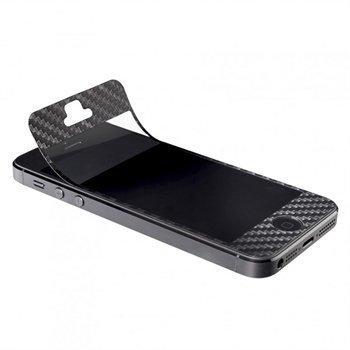 iPhone 5 / 5S / SE Artwizz ScratchStopper Carbon Näytönsuoja Musta