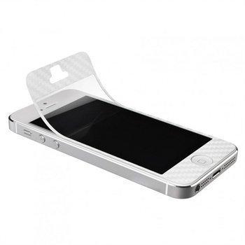 iPhone 5 / 5S / SE Artwizz ScratchStopper Carbon Näytönsuoja Valkoinen