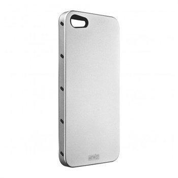 iPhone 5 / 5S / SE Artwizz SeeJacket Alu Suojakuori Hopea