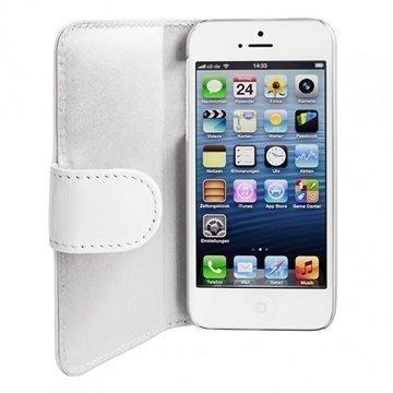 iPhone 5 / 5S / SE Artwizz SeeJacket Nahkakotelo Valkoinen
