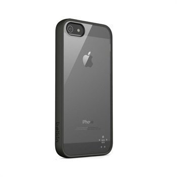 iPhone 5 / 5S / SE Belkin Candy TPU-Kotelo Läpinäkyvä / Musta
