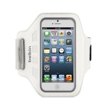 iPhone 5 / 5S / SE Belkin EaseFit Urheiluranneke Valkoinen
