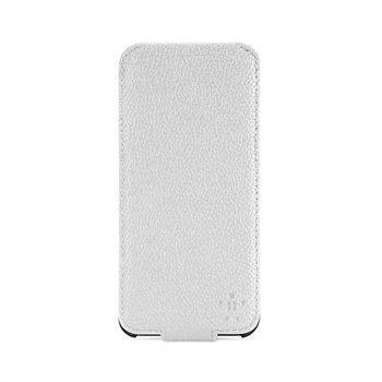 iPhone 5 / 5S / SE Belkin Snap Folio Kotelo Valkoinen / Harmaa