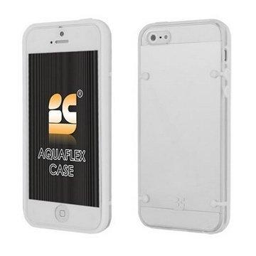 iPhone 5 / 5S / SE Beyond Cell AquaFlex TPU-Kotelo Valkoinen / Kirkas