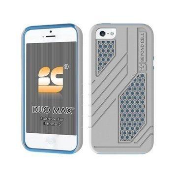 iPhone 5 / 5S / SE Beyond Cell Duo Max Hybrid Kotelo Valkoinen / Vaalean Sininen