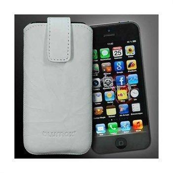 iPhone 5 / 5S / SE Blumax Leather Case White