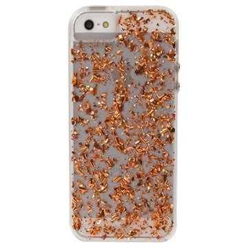 iPhone 5 / 5S / SE Case-Mate Karat Kuori Ruusukulta