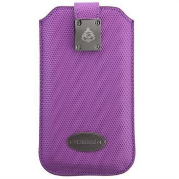 iPhone 5 / 5S / SE Commander Diamond Carbon Kotelo Violetti