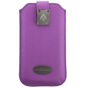 iPhone 5 / 5S / SE Commander Diamond Carbon Kotelo Violetti