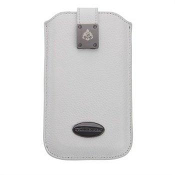 iPhone 5 / 5S / SE Commander Milano Kotelo Valkoinen