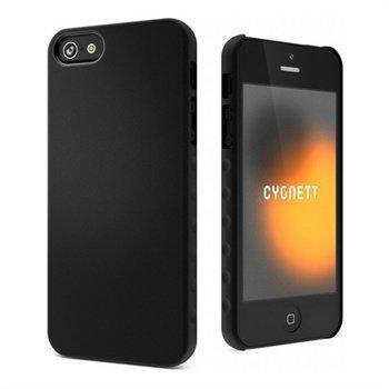 iPhone 5 / 5S / SE Cygnett AeroGrip Feel Suojakuori Musta