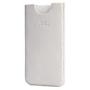 iPhone 5 / 5S / SE DC Chest Nahkakotelo Valkoinen