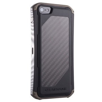 iPhone 5 / 5S / SE Element Case Ronin II G10 Titanium Kotelo Hiilikuitu