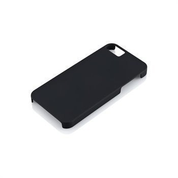 iPhone 5 / 5S / SE Gear4 Thin Ice Liquid Rubber Faceplate Black