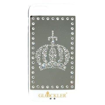 iPhone 5 / 5S / SE Glööckler Royal Kotelo Valkoinen